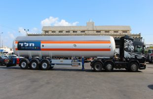 Tankers for conveying LPG, propylene / propane